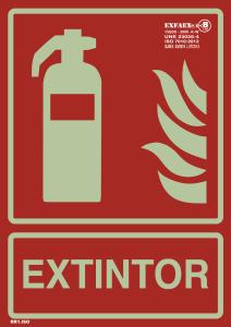Señales extinción - Clases A Y B